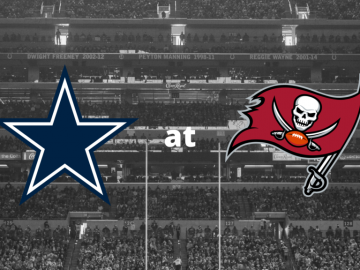 Cowboys at Bucs 9 September 2021