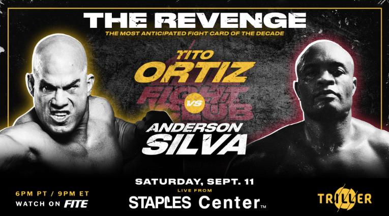 Anderson Silva vs Tito Ortiz Odds & Pick for Boxing Bout