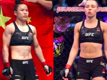 Opening Rose Namajunas vs Weili Zhang 2 Odds for UFC 268